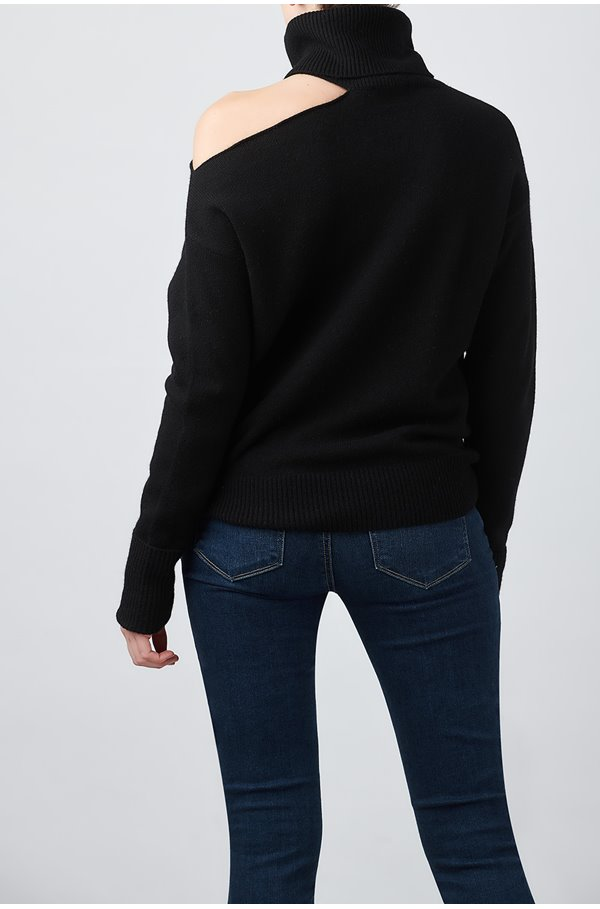 raundi jumper in black