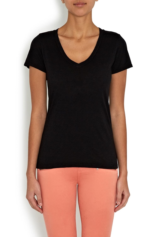 lilith tee in black