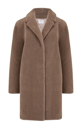 trishelle coat in tan