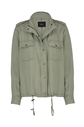 Rails Collins Shirt Jacket in Sage