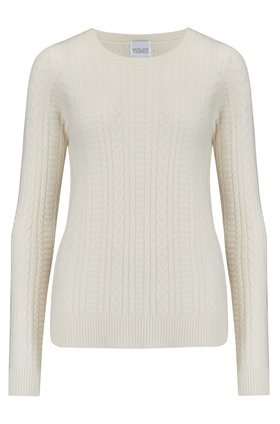 Madeleine Thompson STITCH JUMPER IN CREAM