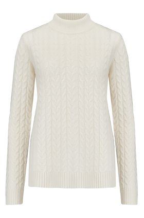 Madeleine Thompson MARY CABLE-KNIT JUMPER IN CREAM