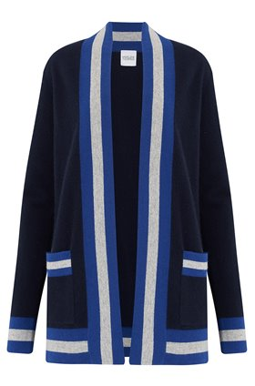 Madeleine Thompson TIBBS CARDIGAN IN NAVY
