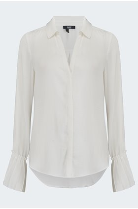 abriana shirt in white