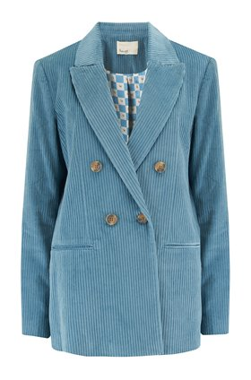 Levete Room  GERTRUDE CORD BLAZER IN BLUE