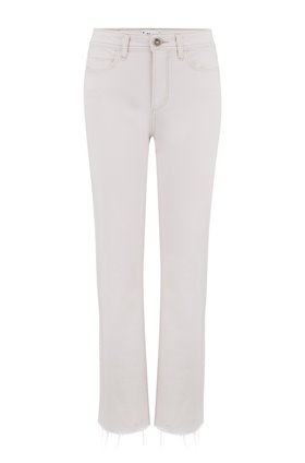 Paige ATLEY ANKLE FLARE JEAN WITH RAW HEM IN FRENCH ROSE