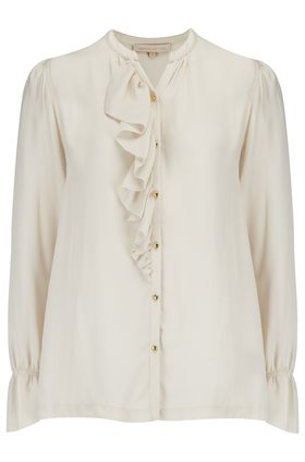 Vanessa Bruno  MADISON RUFFLE BLOUSE IN CRÈME