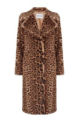 Stand  FANNY COAT IN LEOPARD PRINT