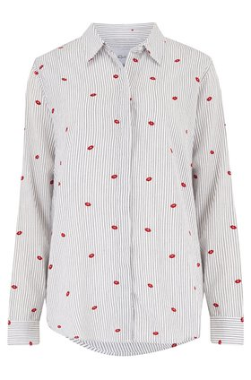 Rails TAYLOR SHIRT IN FLOCKED KISSES