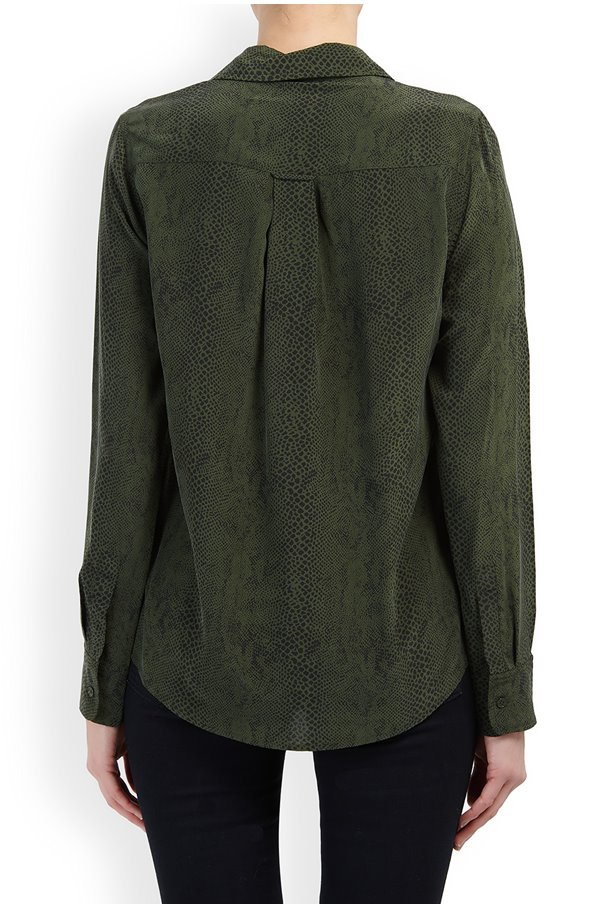 KATE TOP IN GREEN PYTHON