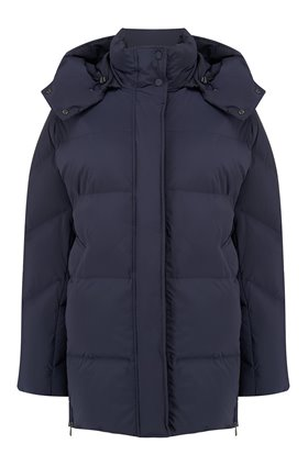 Woolrich Aurora Jacket in Melton Blue