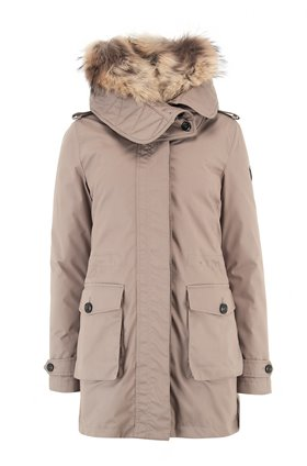Woolrich Scarlett Jacket in Coffee Liqueur