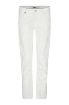 Citizens of Humanity Jeans Emerson Boyfriend Jean in Soft White