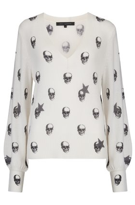 jamie skull and stars jumper