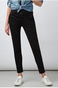 paz slim trouser in black