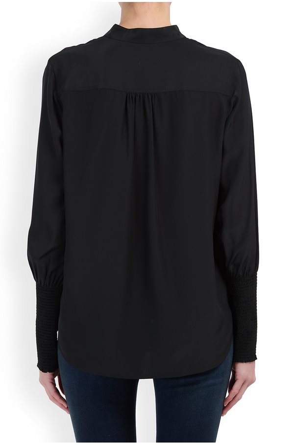 MARIS POPOVER IN BLACK