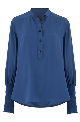Rag and Bone MARIS POPOVER IN ROYAL BLUE