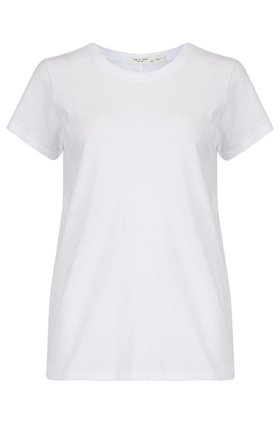 Rag and Bone THE TEE IN BRIGHT WHITE