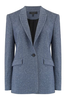 Rag and Bone HAZEL BLAZER IN HERRINGBONE