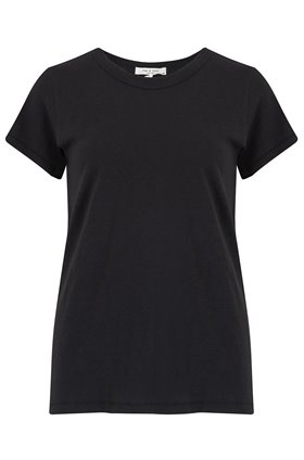 Rag and Bone THE TEE IN BLACK