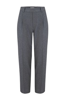 Vince EASY TAPERED PULL-ON TROUSER IN HEATHER GREY