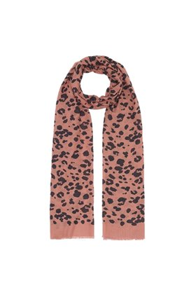 Lily & Lionel ROSE LEOPARD SCARF