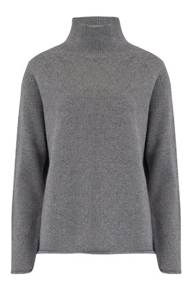 lurex winter sweatshirt in grey