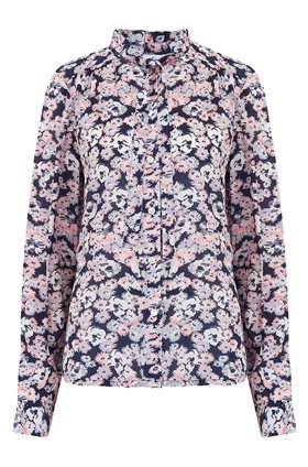 devon shirt in confetti floral