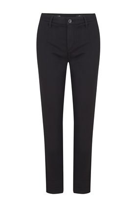 caden trouser in super black