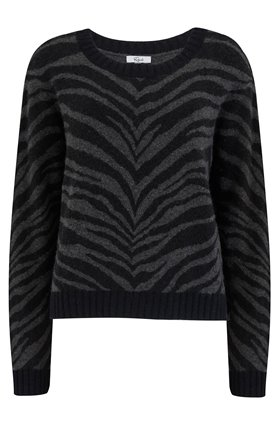 Rails CHANCE JUMPER IN CHARCOAL TIGER STRIPE