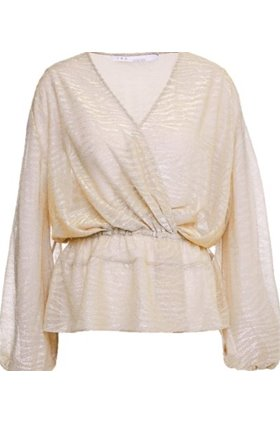 IRO MARYLE TOP IN BEIGE