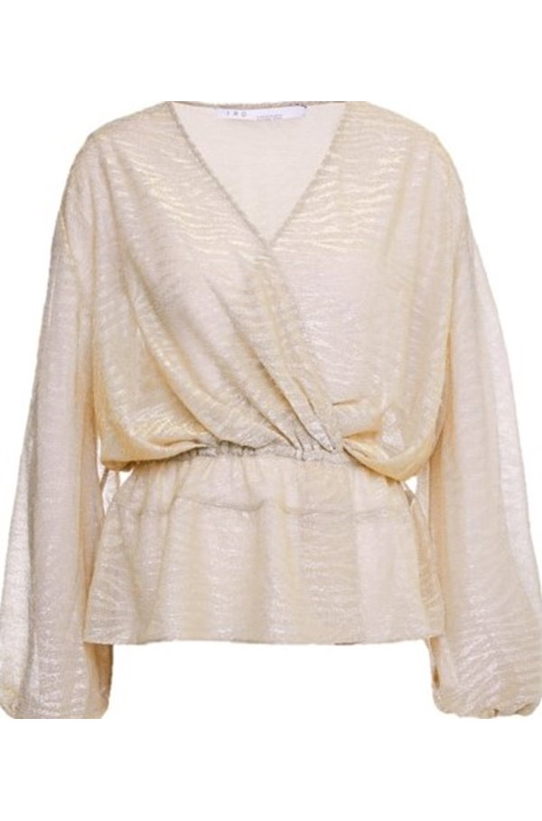 maryle top in beige