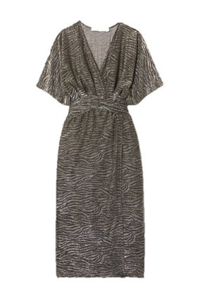 IRO VOLSUN DRESS IN DARK GREY