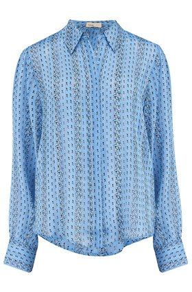 Levete Room  HAZEL BLOUSE IN BLUE MIX