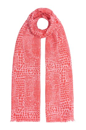 Mercy Delta SIGNATURE LYNX SCARF IN MERMAID PINK