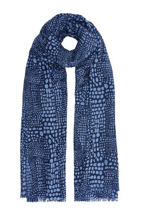 Mercy Delta SIGNATURE SCARF IN SEA BLUE