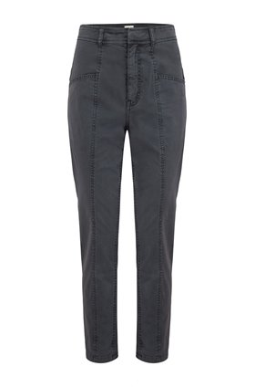 Rebecca Taylor La Vie  STRETCH TWILL PANT IN WASHED BLACK
