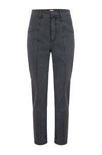 stretch twill pant in washed black