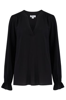 marlena blouse in black