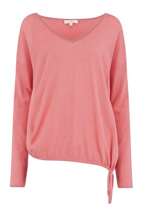 v-neck chalk jumper in melba