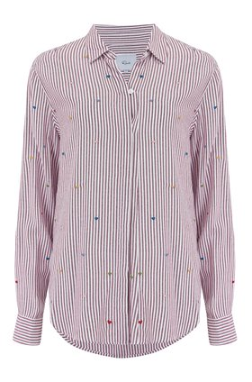 taylor shirt in marseille stripe