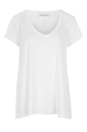 American Vintage JAC51 Short Sleeve Tee in White