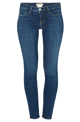 L'AGENCE Chantal Skinny Jean in Dark Vintage