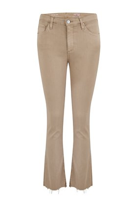 JODI CROP JEAN IN SULFUR PARCHED TRAIL