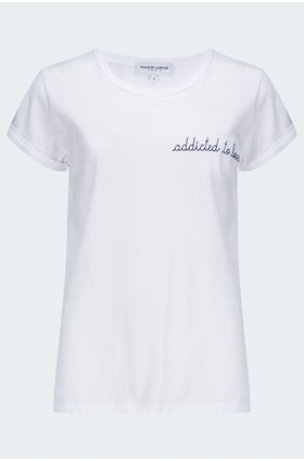 addicted to love t-shirt in white