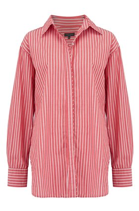 alina shirt in red stripe