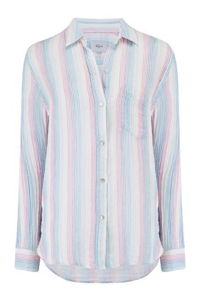 ellis shirt in iris stripe