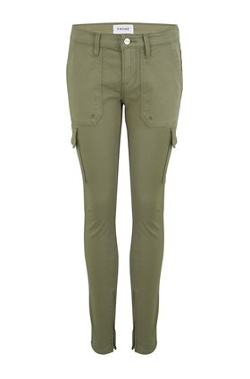 cargo skinny trouser in washed od