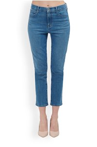 ruby cropped cigarette jean heart