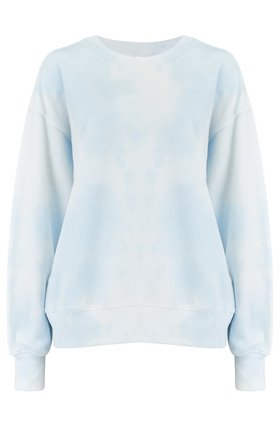 exclusive kelsey tie dye top in blue